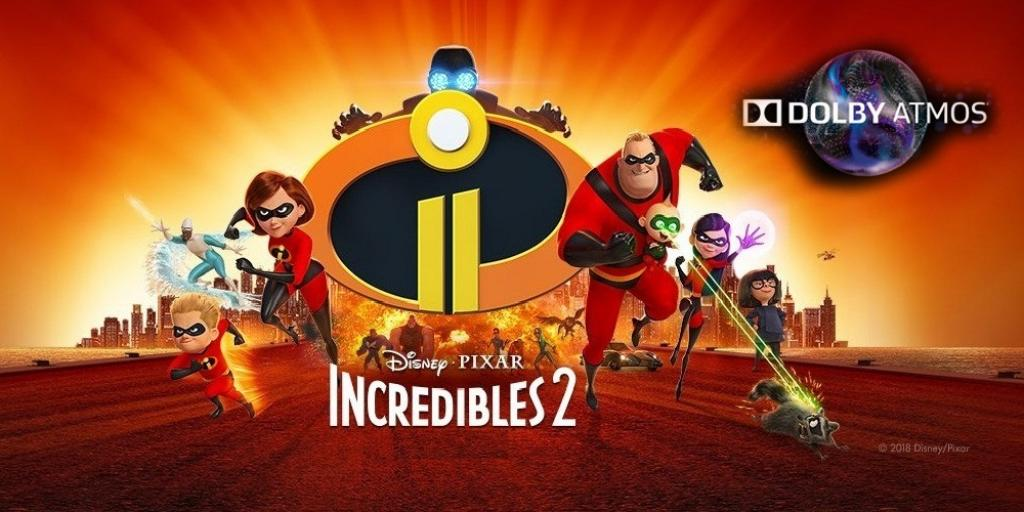 INCREDIBLES 2 (ATMOS)