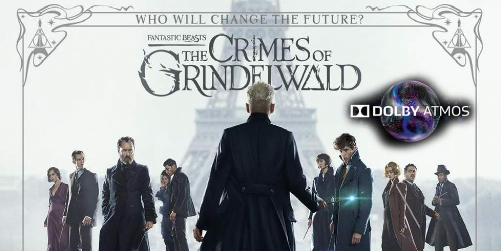 FANTASTIC BEASTS: THE CRIMES OF GRINDELWALD (ATMOS)