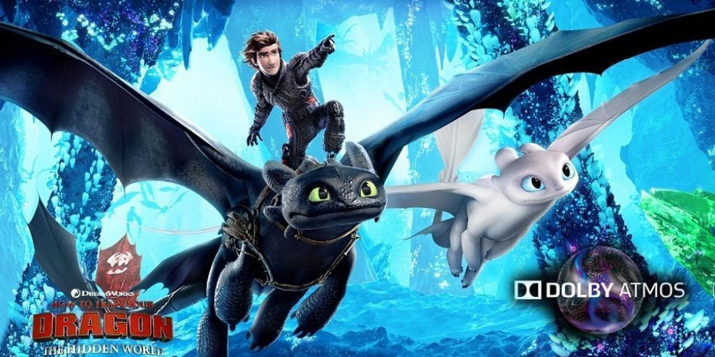 HOW TO TRAIN YOUR DRAGON: THE HIDDEN WORLD (ATMOS)